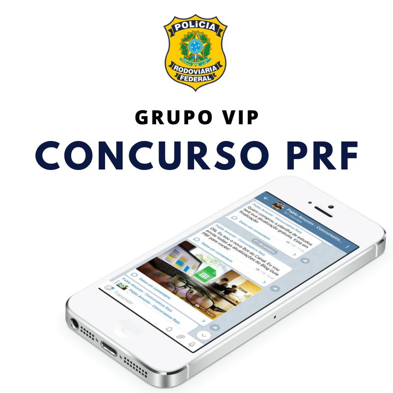 Grupo Vip Concurso PRF